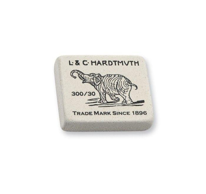 Ластик KOH-I-NOOR ELEPHANT 300/30 каучук 35,5×28,5×10 мм