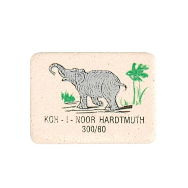 Ластик KOH-I-NOOR ELEPHANT 300/80 каучук 26х19х8 мм