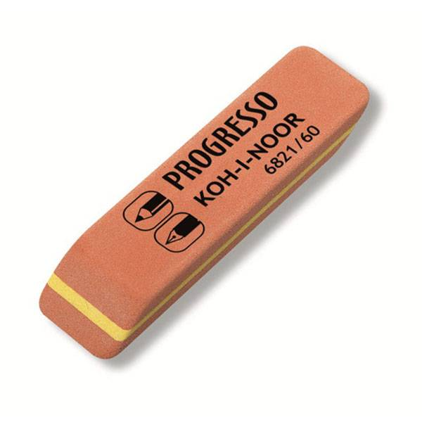 Ластик KOH-I-NOOR PROGRESSO 6821/60 (4B-6H) 57x14x8 мм, каучук