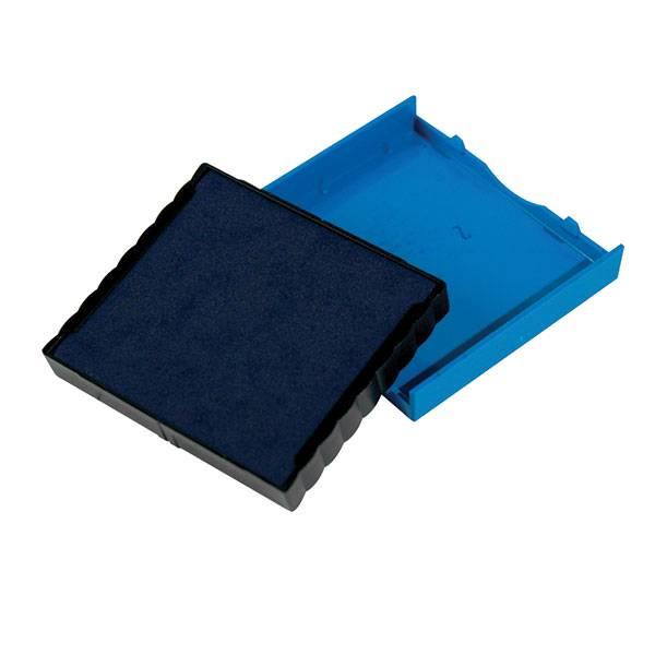 Подушка штемпельная для 4924/4940/4724, 40х40 мм синяя пластик