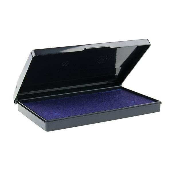 Подушка штемпельная 9052, 70х110 мм фиолетовая пластик