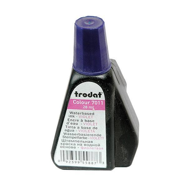 Краска Trodat 28 мл, фиолетовая