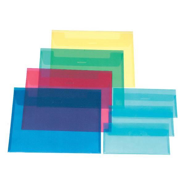 Пластиковый конверт РЕГИСТР А4, прозрачный 180 мкм, ассорти
