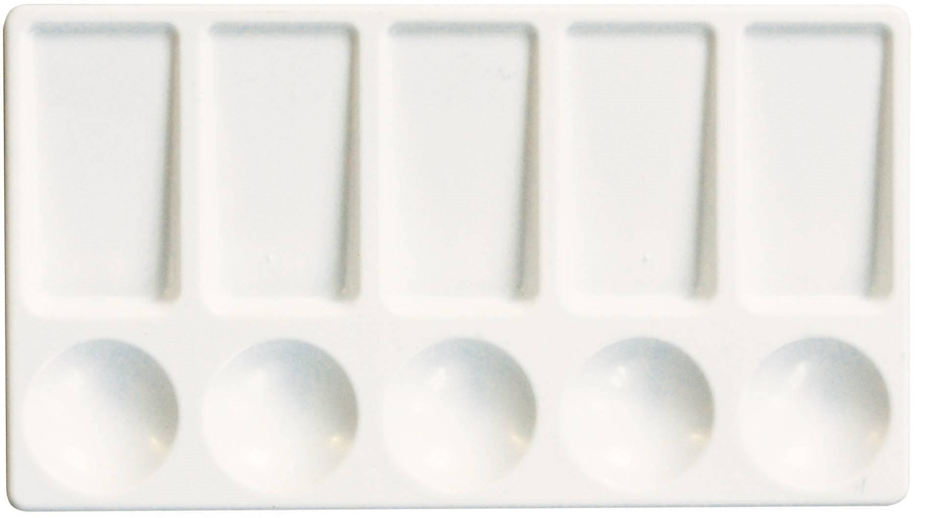Палитра ЛУЧ №2 прямоугольная пластиковая