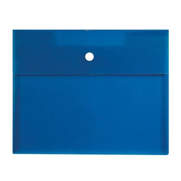 Пластиковый конверт РЕГИСТР А5, на кнопке, прозрачный 180 мкм, ассорти