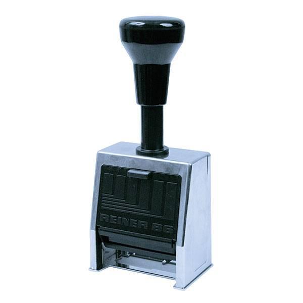 Нумератор металлический 6-разрядный, 4,5мм