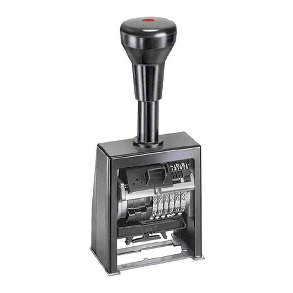 Нумератор пластиковый 6-разрядный, 4,5мм