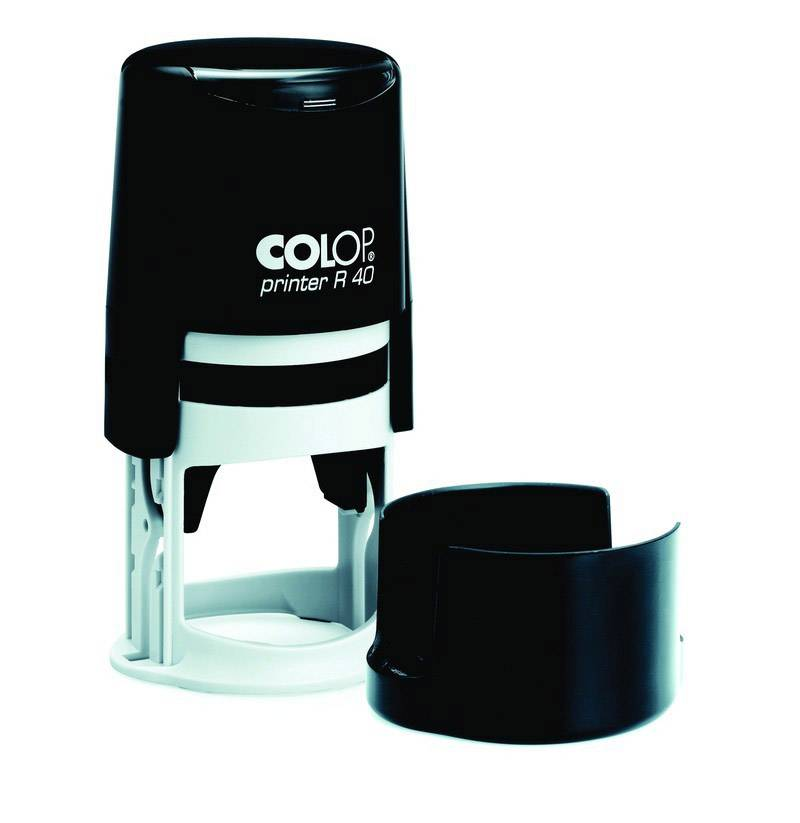 Печать самонаборная PRINTER R40 1 круг, D-40 мм, 1 касса, пластик