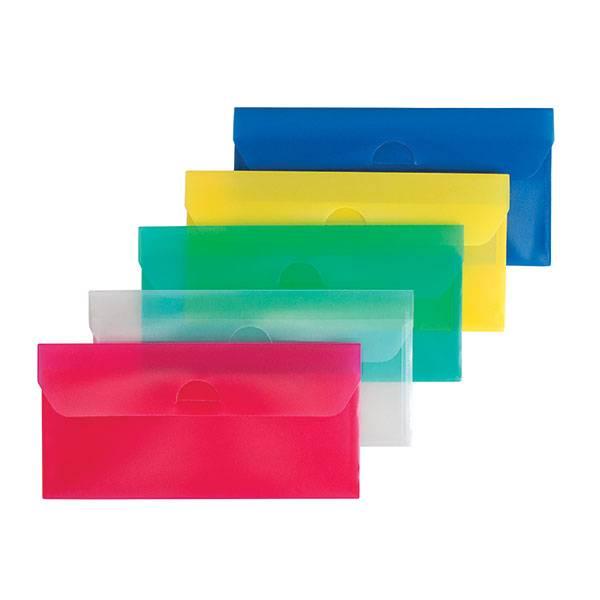 Пластиковый конверт РЕГИСТР А6, прозрачный 180 мкм, ассорти