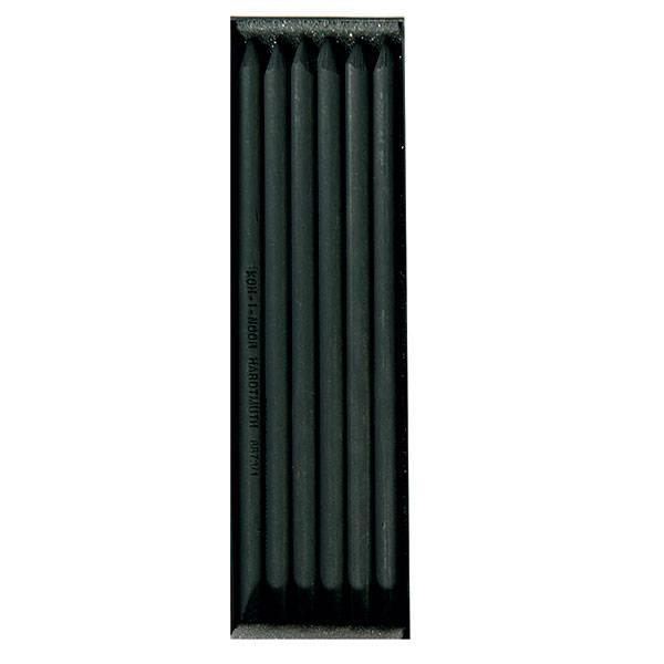 Уголь для рисования искусственный Koh-I-Noor мягкий, 6 шт.