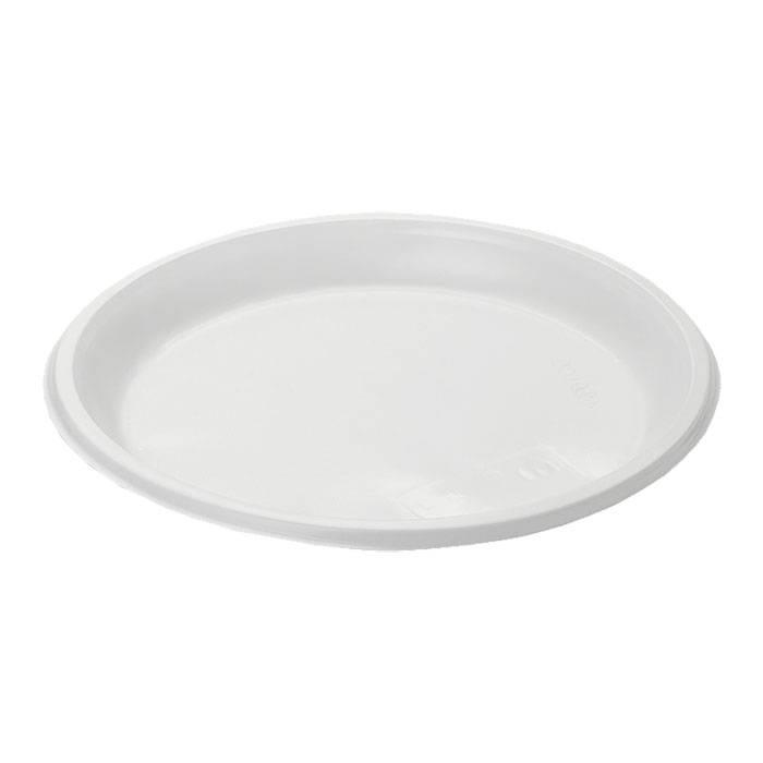 Тарелка белая, d=205мм