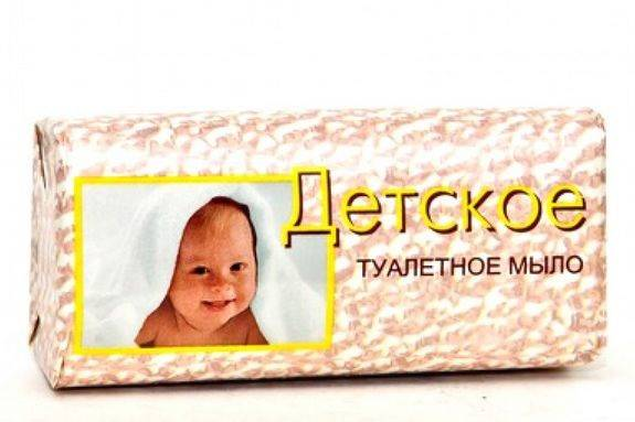 Туалетное мыло Детское 100 г
