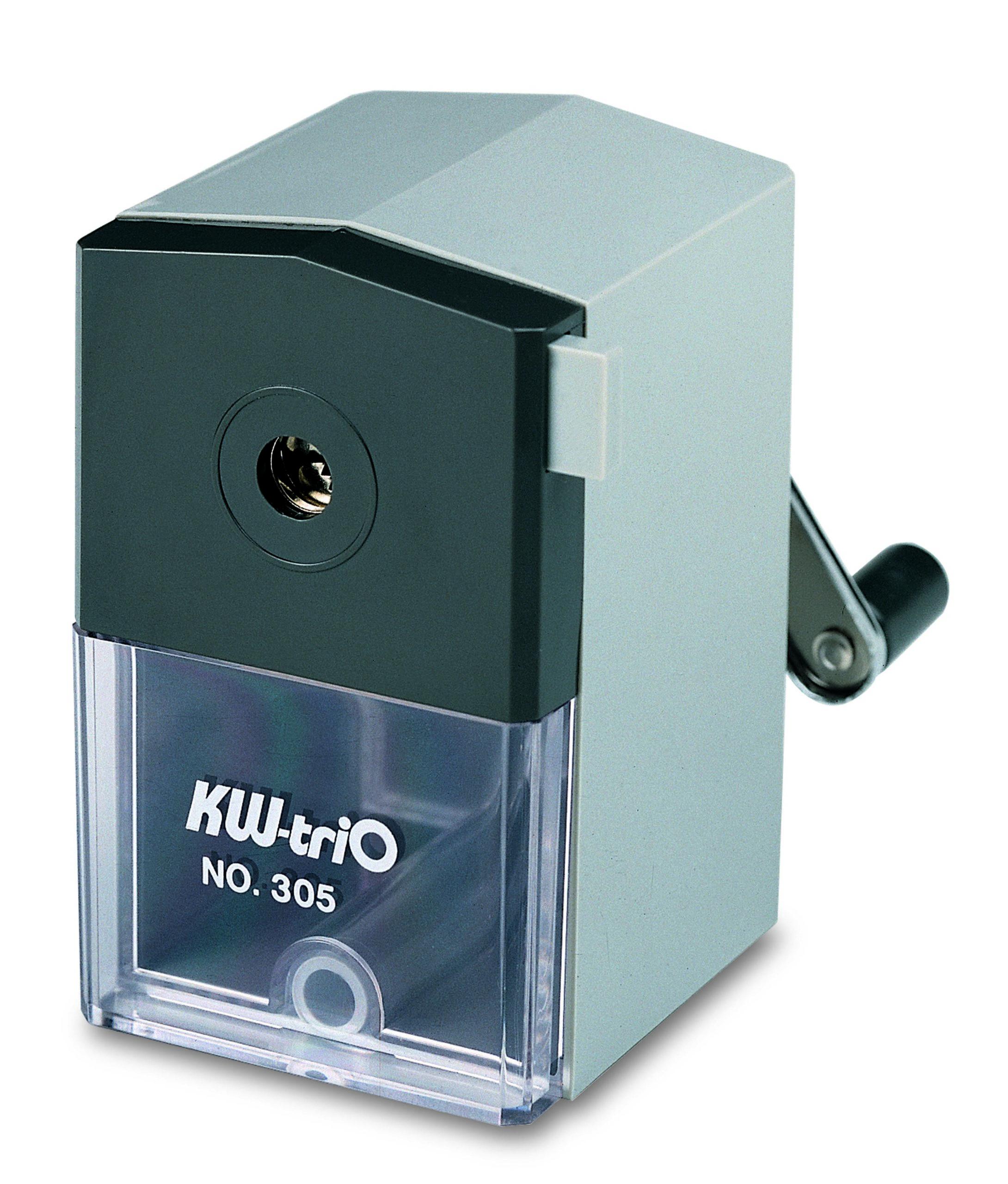 Точилка механическая KW-TRIO пластиковый корпус ассорти