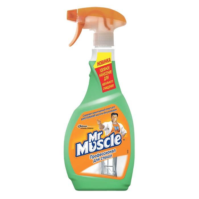Средство для мытья стекол MR. MUSCLE с курком 500 мл