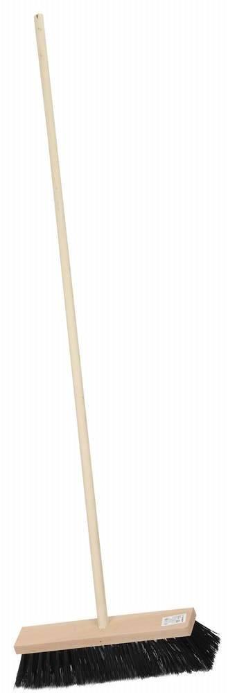Щетка для пола деревянная с черенком