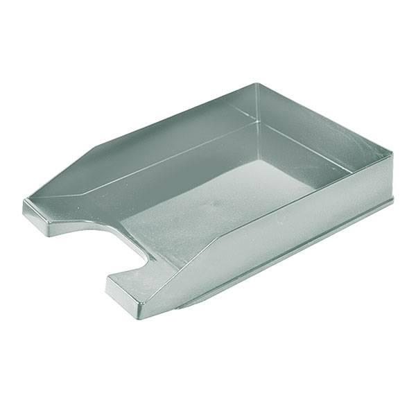 Лоток горизонтальный СТАММ СТАНДАРТ серый пластик