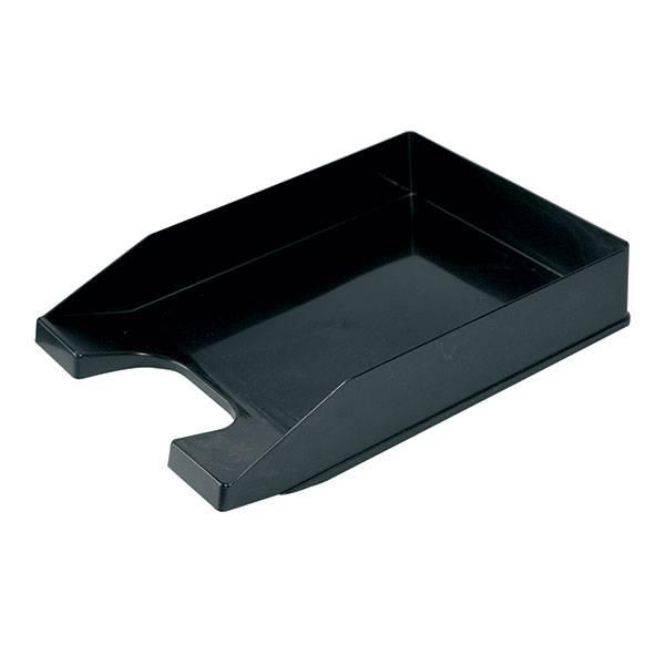 Лоток горизонтальный СТАММ СТАНДАРТ черный пластик