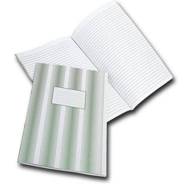 Книга учета КФОБ А4 60 листов в линию, офсет 60 г/м2, мелованный картон, вертикальная