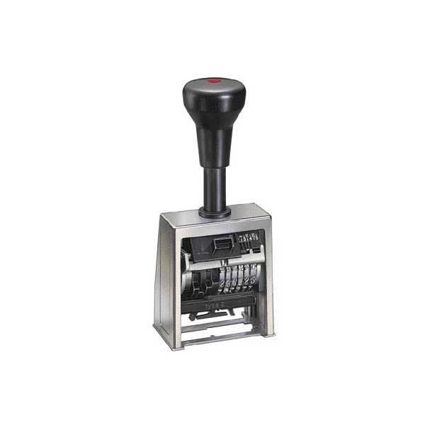 Нумератор металлический, 8-разрядный, 4,5мм