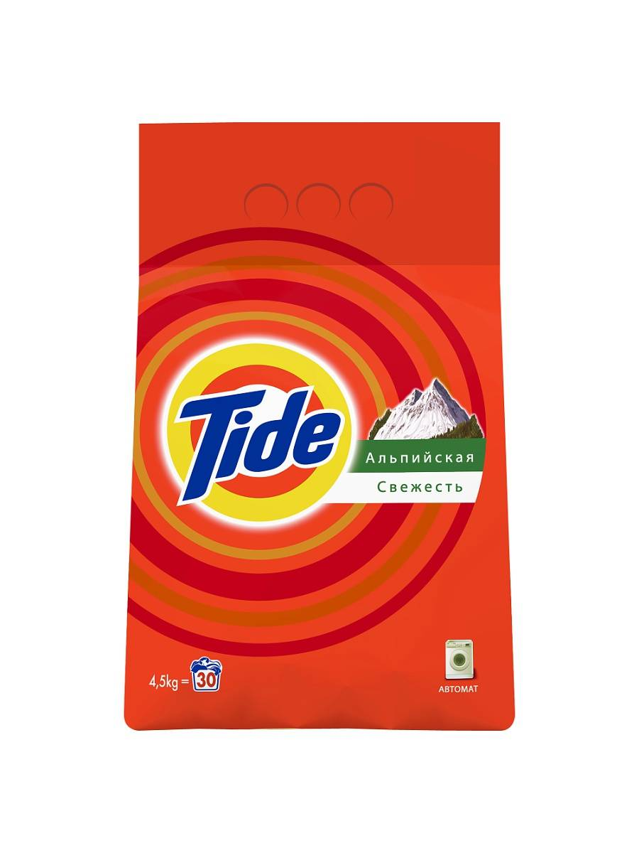Порошок стиральный автомат TIDE ассорти 4,5 кг