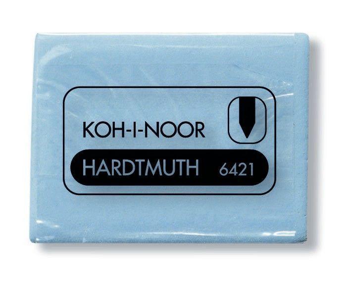 Ластик KOH-I-NOOR 6421/18 каучук 47x36x10 мм, клячка