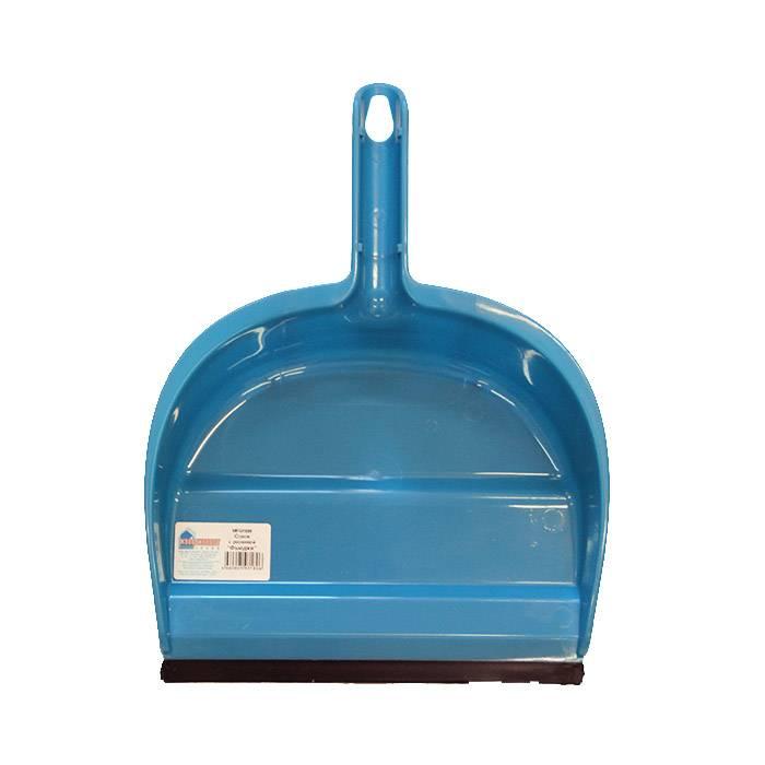 Совок для мусора с резинкой, пластик
