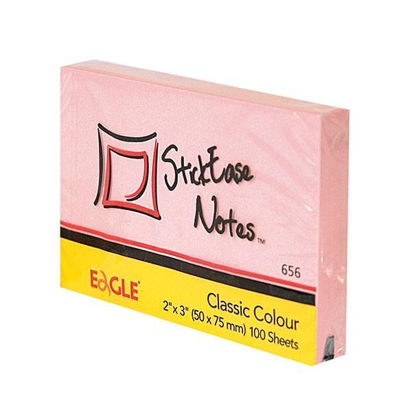 Блок самоклеящийся EAGLE 51х75 мм 100 листов, пастель розовый