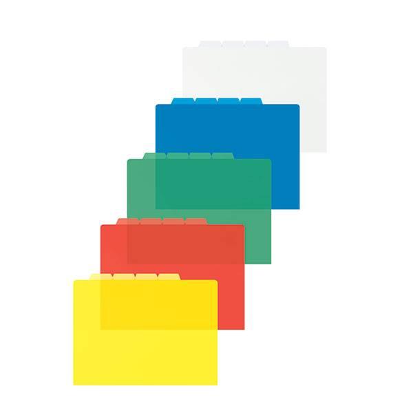 Папка-уголок inФОРМАТ А4, 4 отделения, прозрачный пластик 150 мкм