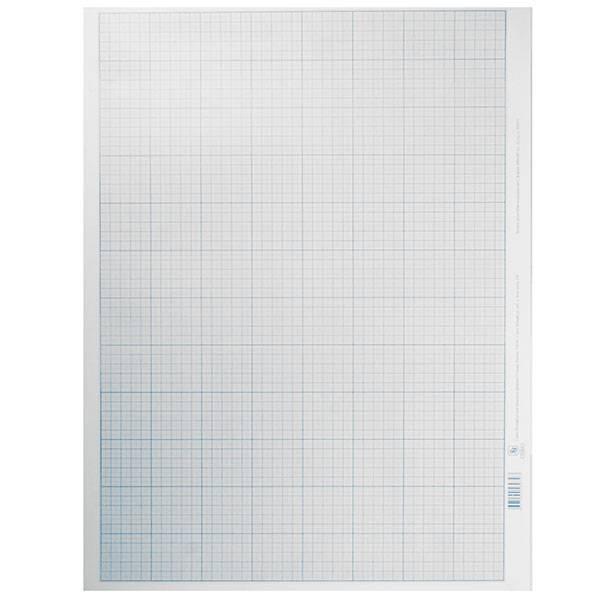 Бумага миллиметровая 400х600 мм, голубая