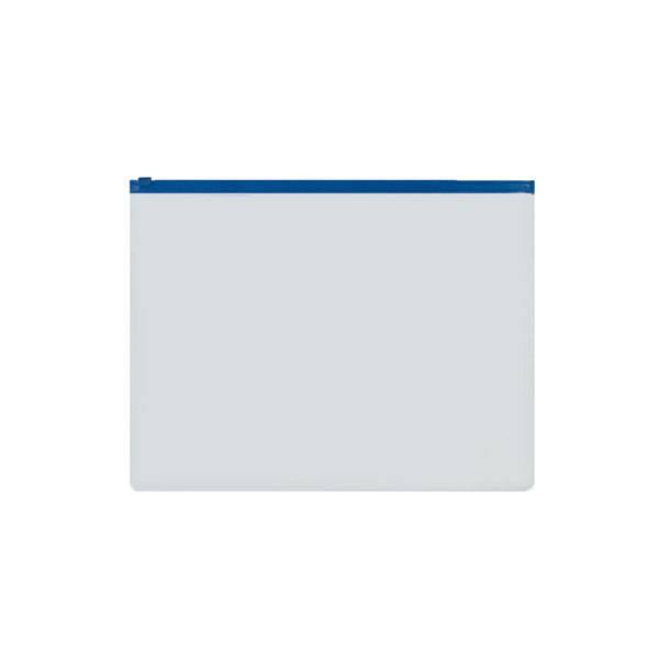 Папка на молнии inФОРМАТ А5 пластик 110 мкм прозрачная