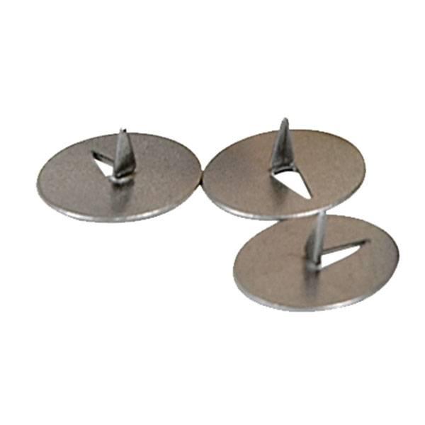 Кнопки кнацелярские inФОРМАТ 12 мм 100 штук металл