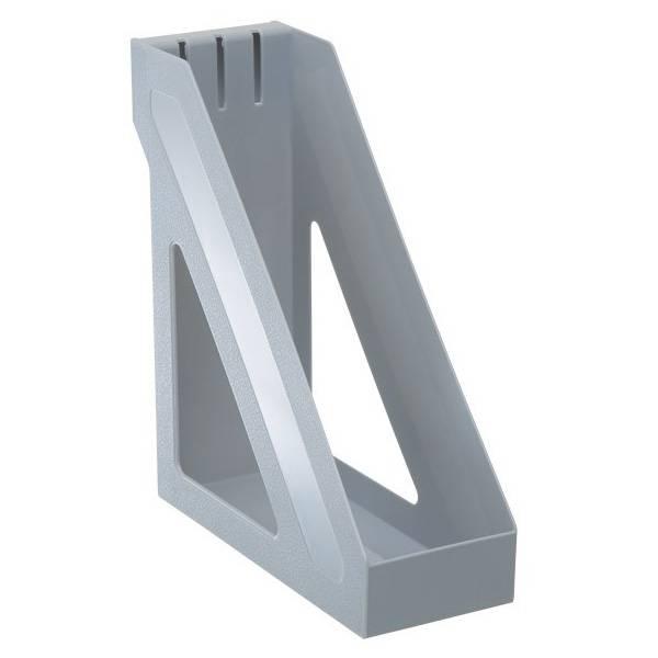 Лоток вертикальный СТАММ БАЗИС 100 мм, серый пластик