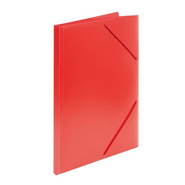 Папка с резинкой inФОРМАТ А4 33 мм пластик красная