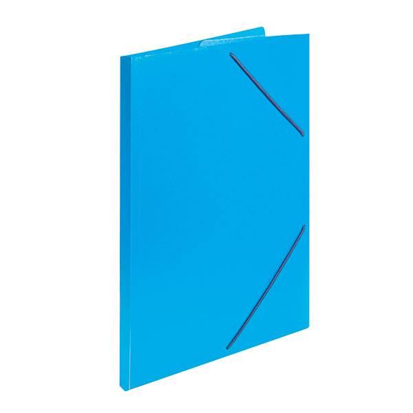 Папка с резинкой inФОРМАТ А4 33 мм пластик синяя