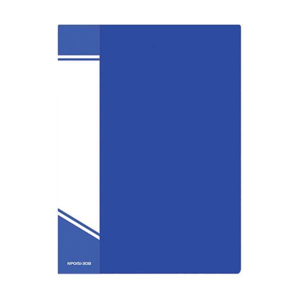 Папка с файлами inФОРМАТ А4 30 файлов, пластик 500 мкм, карман для маркировки