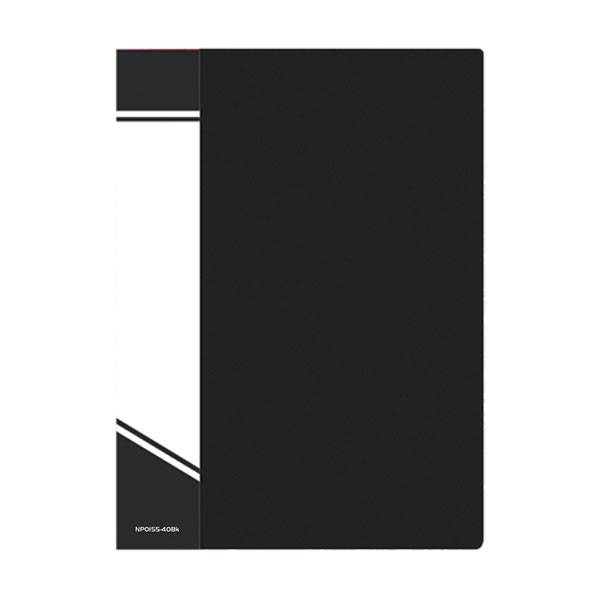 Папка с файлами inФОРМАТ А4 40 файлов, пластик 600 мкм, карман для маркировки