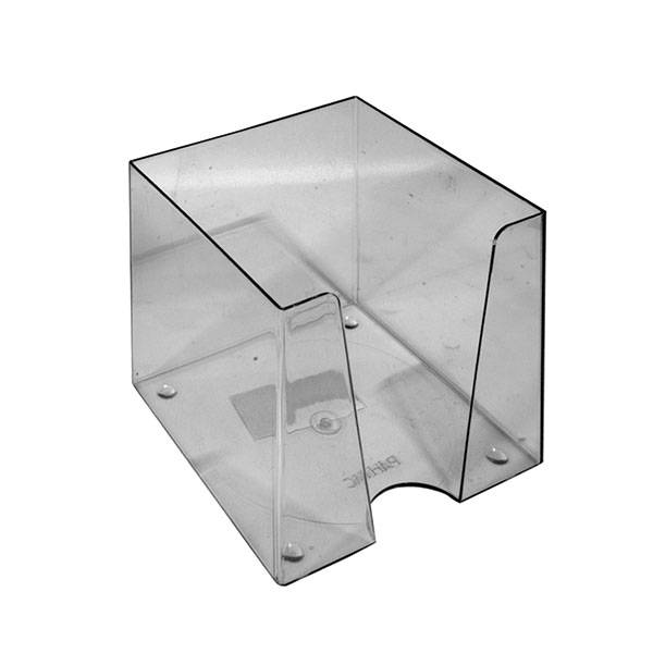Подставка для блок-кубиков 90х90х90 мм, дымчатая