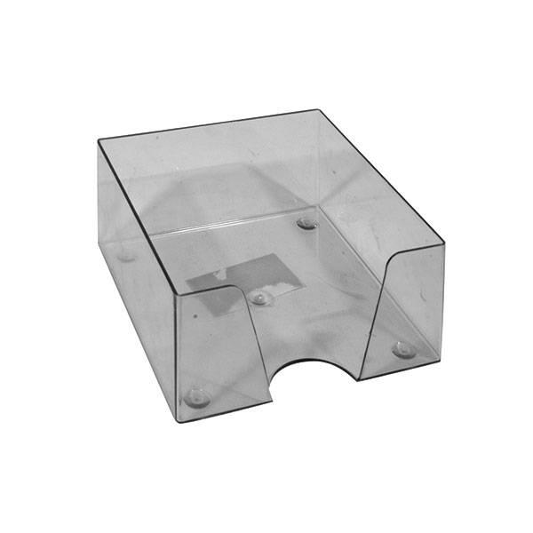 Подставка для блок-кубиков 90x90x45 мм, дымчатая