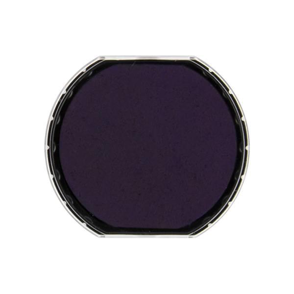 Подушка штемпельная для R40/PrinR40, 40 мм фиолетовая пластик