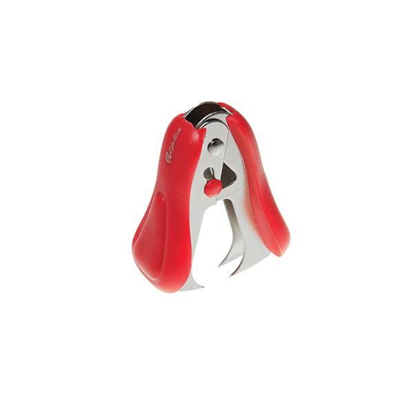 Антистеплер EAGLE для скоб №24/6 с фиксатором красный