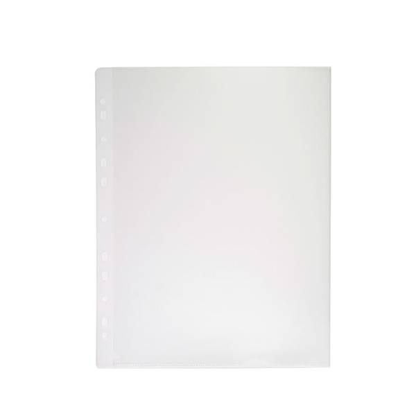 Папка-уголок РЕГИСТР А4, прозрачный пластик 180 мкм