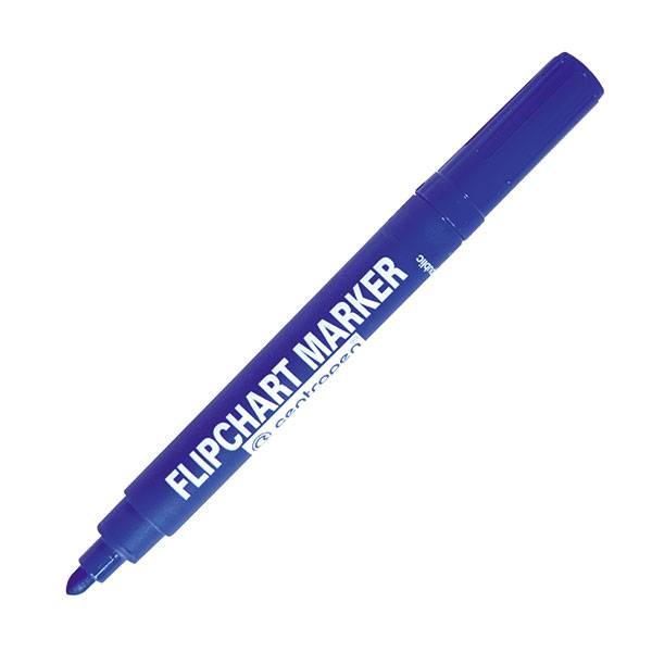 Маркер для флипчартов CENTROPEN FLIPCHART 2,5 мм синий круглый
