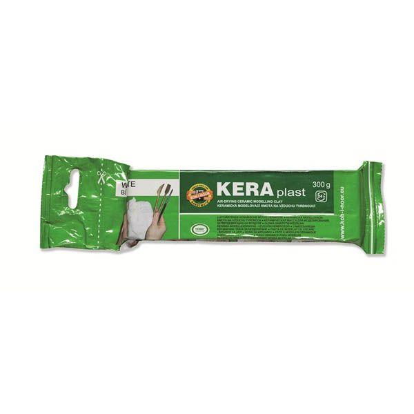 Глина для лепки Keraplast 300г,белая