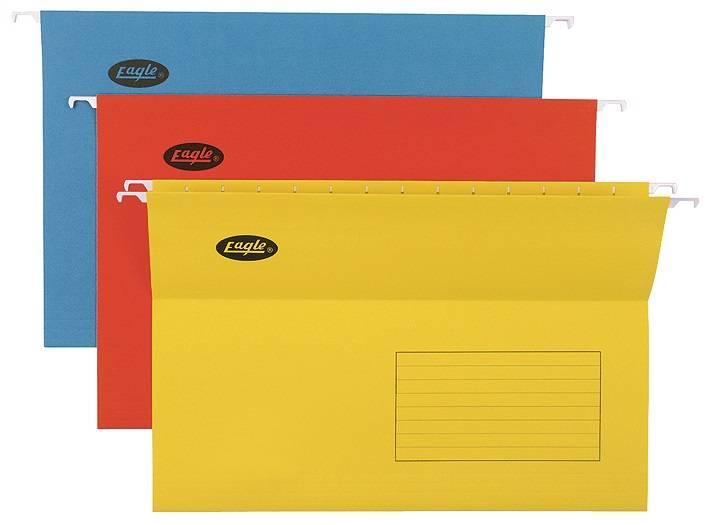 Папка подвесная EAGLE FOOLSCAP картон ассорти