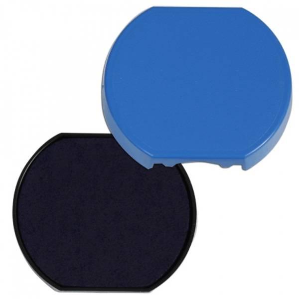 Подушка штемпельная для 46040, 40 мм синяя пластик