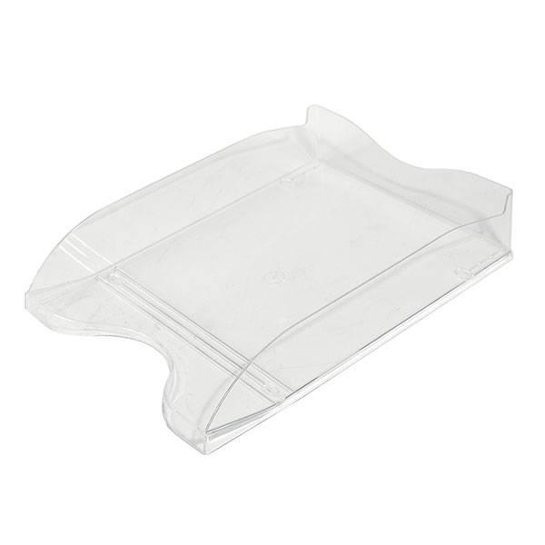 Лоток горизонтальный СТАММ ЛЮКС прозрачный пластик