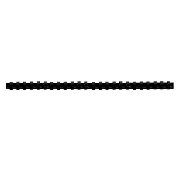 Пружина для переплета FELLOWES 10 мм черный пластик А4