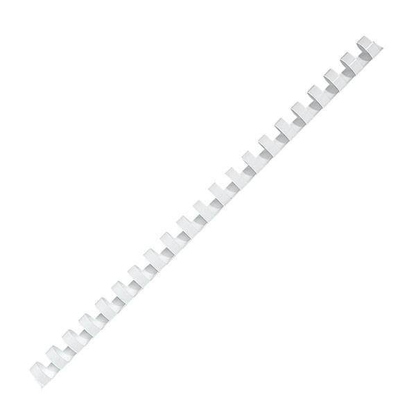 Пружина для переплета FELLOWES 12 мм белый пластик А4