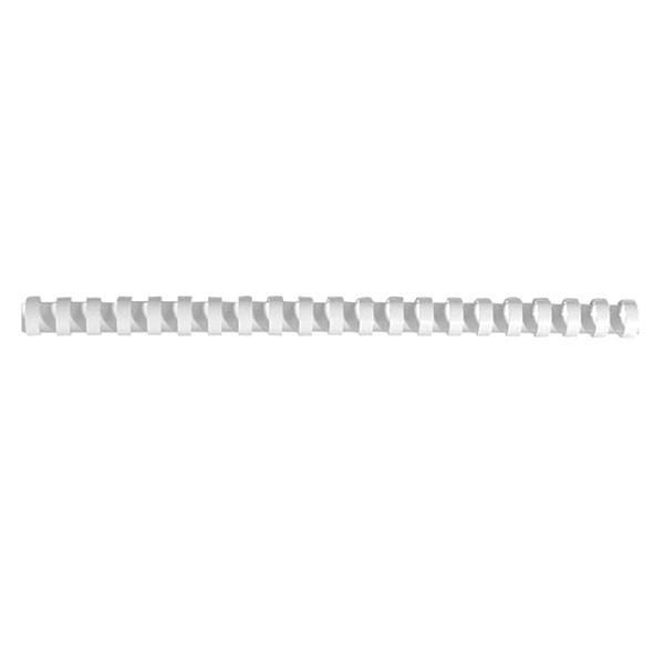 Пружина для переплета FELLOWES 14 мм белый пластик А4
