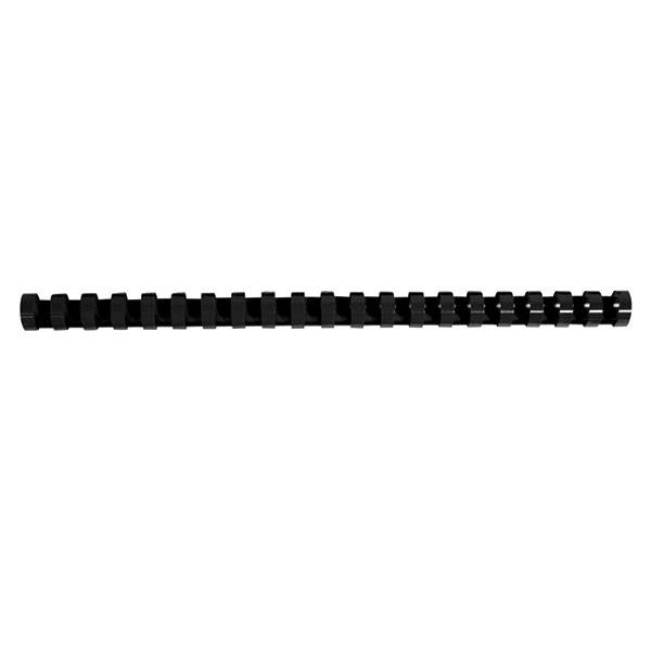 Пружина для переплета FELLOWES 14 мм черный пластик А4